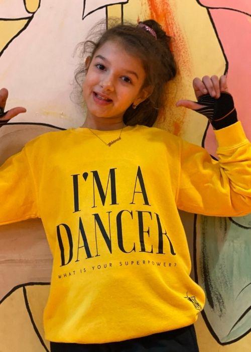 GYERMEK I'M A DANCER PULLOVER